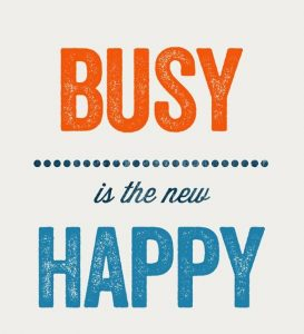 Busy New Happy