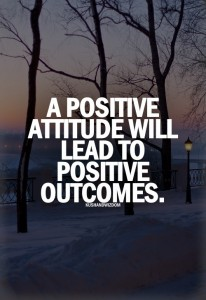 Stay positive quote